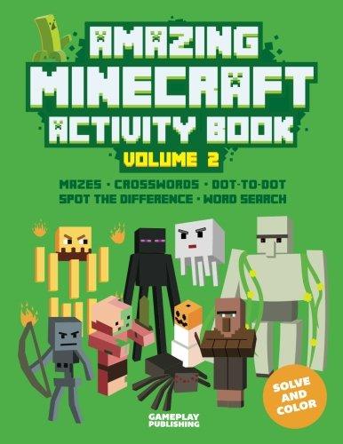 Amazing Minecraft Activity Book: Volume 2