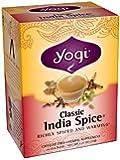 Yogi Classic India Spice Tea, 16 Tea Bags (Pack of 6)