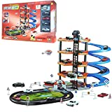 #6: SuperToy(TM) 5 Level Modern Car Park Driveway City Car Wash Garage Set Kids Gas Station Play Set Toy