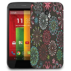 Snoogg Multicolor Chakra'S Designer Protective Phone Back Case Cover For Motorola G / Moto G