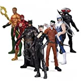 Super Heroes vs Super Villains New 52 DC Collectibles Action Figure 7 Pack