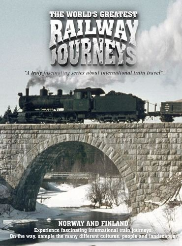 The World's Greatest Railway Journeys - Norway & Finland (DVD)