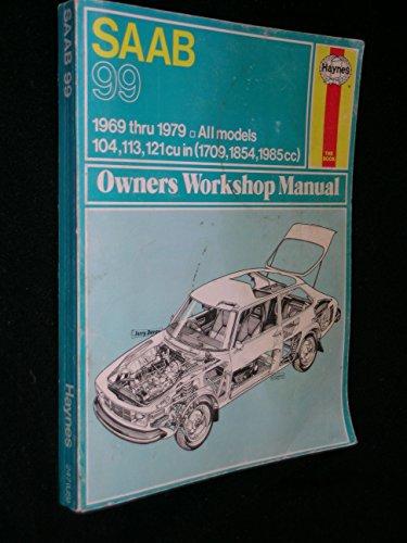 Saab 99 Owner's Workshop Manual