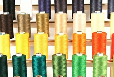 New ThreadsRus 58 LARGE SPOOLS of ALL PURPOSE Polyester