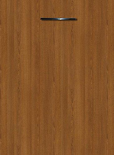 Küchenschrank Unterschrank Front für Geschirrspüler FE (Breite 45cm-vollintegriert, 44 Eiche rustikal)