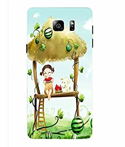 Case Cover Printed Back Cover for Samsung Galaxy NOTE 5