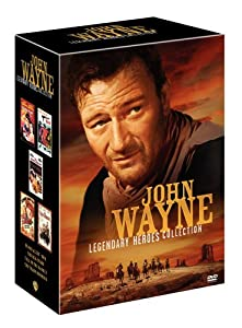 John Wayne Legendary Heroes Collection (Blood Alley / McQ / The Sea Chase / Tall in the Saddle / The Train Robbers)