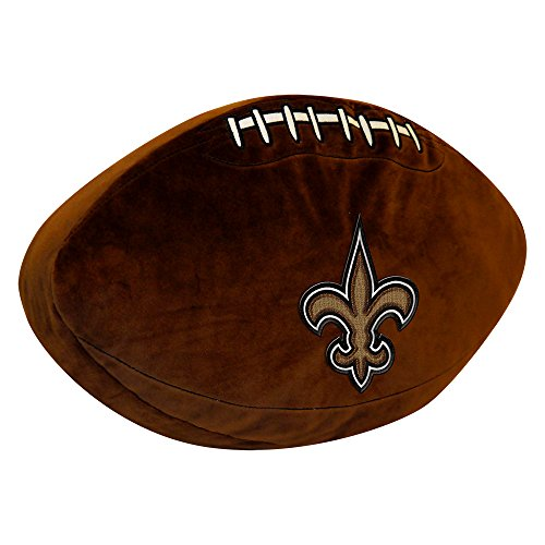 The Northwest Company NFL New Orleans Saints 3D Sports Pillow