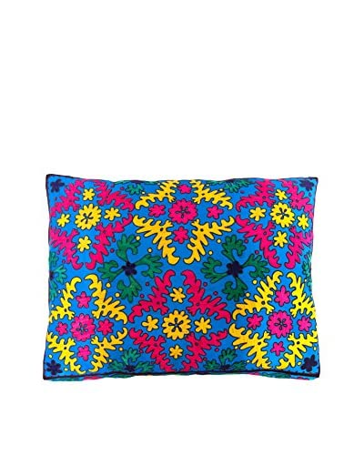 Found Object Jasa Suzani Extra Large Floor Pillow