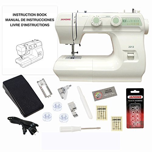 Janome 2212 Sewing Machine (Janome Sewist 500 compare prices)