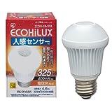アイリスオーヤマ LED電球 人感センサー付mini 30w相当 電球色 325lm LDA5L-H-S5