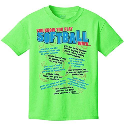 Softball T-Shirt: Softball You Know (2014)-Adult X-Large