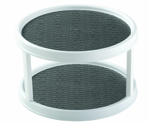 Copco 2555-0187 Non-Skid 2-Tier Cabinet Turntable, 12-Inch (Turntable Spice Rack compare prices)