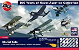 Airfix Military Air Power Royal Navy Fleet Air Arm 100th Anniversary of Naval Aviation A50105 1:72 Scale 5 Model Gift Set with Paints, Glue and Brushes