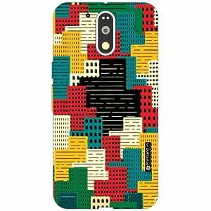 Motorola Moto G4 Plus Back Cover- Silicon Abstract Art Designer Cases