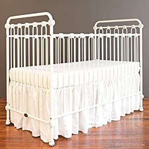Amazon Com Bratt Decor Joy Baby Crib Distressed White Baby