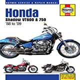Haynes Honda Shadow VT600 & VT750 Automotive Repair Manual (Haynes Automotive Repair Manuals)
