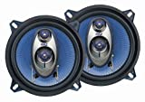 Pyle PL53BL 5.25-Inch 200-Watt Three-Way Speakers (Pair)