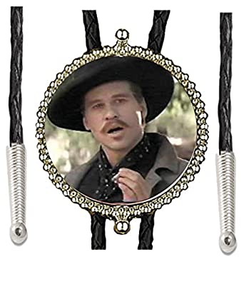 Doc Holliday I'm Your Huckleberry Tombstone Made Bolo Tie Sport