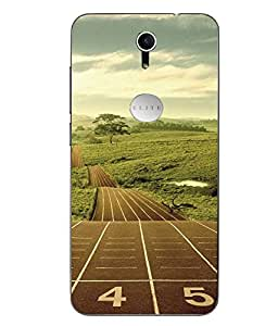 Snazzy Printed Multicolor Soft Back Cover For Swipe Elite Plus