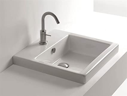 Whitestone Hox Recessed Bathroom Sink