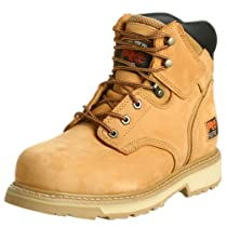 "Hot Sale Timberland PRO Men's Pitboss 6"" Steel-Toe Boot,Wheat,9 M"