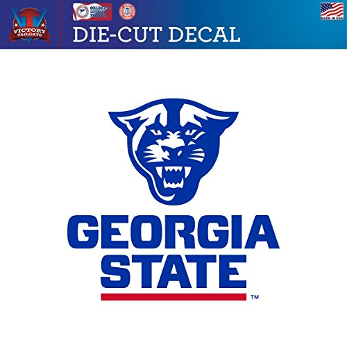 Georgia State University Panthers Die-Cut Vinyl Decal (Approx 6x6) (Georgia State University Decal compare prices)