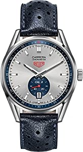 TAG Heuer Men's WV5111.FC6350 Carrera Analog Display Swiss Automatic Black Watch