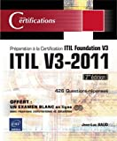 echange, troc Jean-Luc BAUD - ITIL V3-2011 - Préparation à la certification ITIL Foundation V3 (2ème édition)