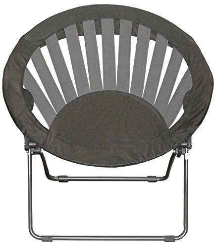 Impact Canopy Sunrise Bungee Chair Furniture Dorm Folding Round Black Home