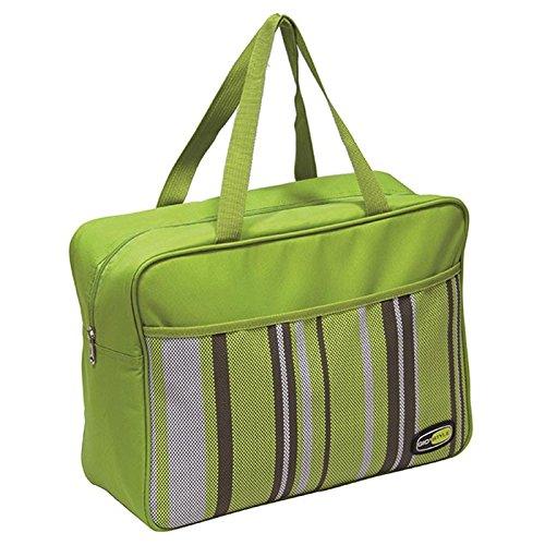 Borsa termica GioStyle Capri Beach Square capacità 17lt 2 colori assortiti verde o azzurro, nuova collezione Giò Style Estate 2015