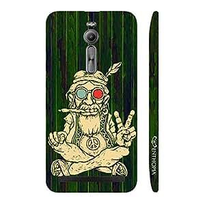 Enthopia Designer Hardshell Case Ganja Baba 3 Back Cover for Asus Zenfone 2
