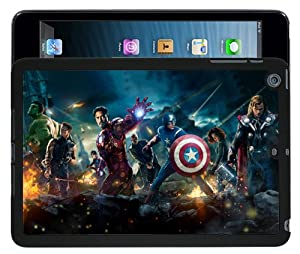 Apple iPad Mini Cool Avengers Marvel Case/Cover + Screen Protector - Black