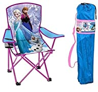 Disney Frozen Kids Folding Chair with…