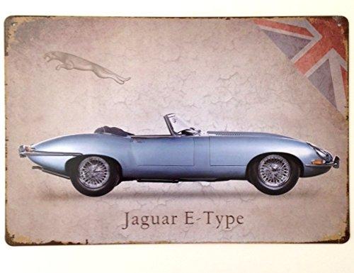 jaguar-e-tipo-targa-da-parete-in-metallo-vintage-garage-lounge-regalo-gran-bretagna