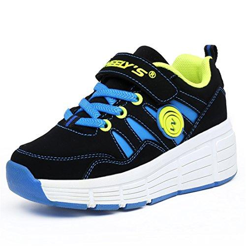 Muchachos-de-los-nios-y-nias-de-calzado-deportivo-zapatos-de-skate-con-luces-LED-parpadeantes-zapatillas-de-skate-tienen-una-rueda-zapatos-para-correr