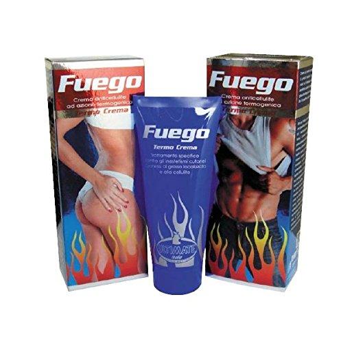 Ultimate Italia Fuego Thermo Crema Cosmetica a Effetto Snellente - 200 ml