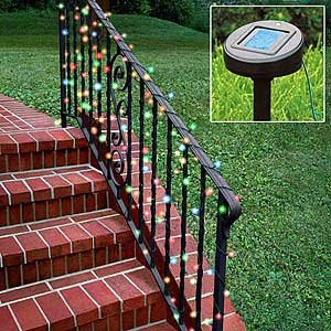 Click to read our review of Christmas Solar Lights: Solar Powered White Christmas Lights