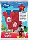 Disney Mickey Mouse Ears Assorted Color Balloons 12 piece pack