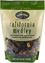 Second Nature California Medley All Natural Trail Mix 26oz Roasted Almonds Pistachios Raisins and Dr