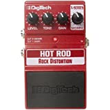DigiTech XHR X-Series Hot Rod Rock Distortion Guitar Effects Pedal Bundle with Bundle with Instrument Cable, Patch Cable, Picks, and Polishing Cloth
