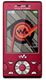 Sony Ericsson W995 Energetic Red Walkman Unlocked GSM Cell Phone International Version Sim Free Mobile