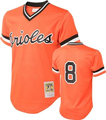 Mitchell & Ness Cal Ripken Jr. #8 1988 Baltimore Orioles Orange Mitchell &... by Mitchell & Ness