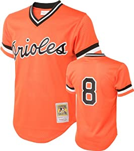 MLB Mitchell & Ness Cal Ripken Jr. Baltimore Orioles 1988 Authentic Cooperstown... by Mitchell & Ness