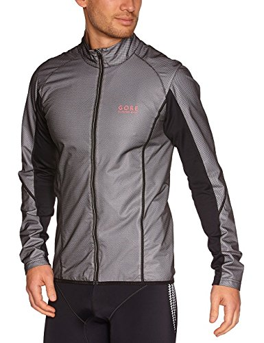 Gore Running Wear, Giacca Uomo Magnitude Active Shell, Nero (black), XL