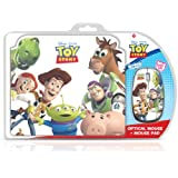 Toy Story Gift Pack Includes Optical Mouse and Mouse Mat