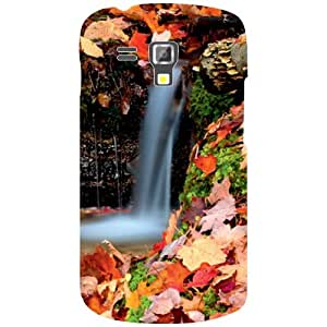 Via flowers Back Cover For Samsung Duos 7582 Waterfall Multi Color