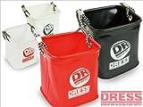 ドレス(DRESS) 水くみバケツ LD-OP-0912 ホワイト/レッド S