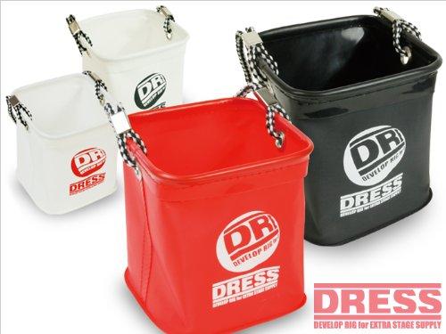 ドレス(DRESS) 水くみバケツ LD-OP-0912 ホワイト/レッド Sの商品画像