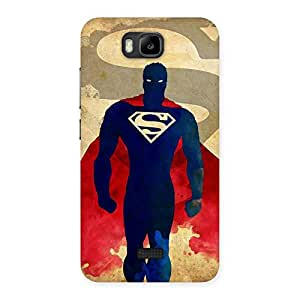 Special Enter The Man Back Case Cover for Honor Bee